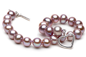 Pink Freshwater Pear Bracelet