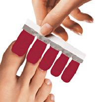 Pedicure Dry Nail Enamel Strips