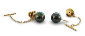 Tie Tack. Pearls for Men