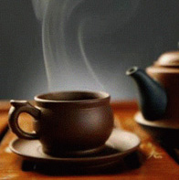 Cup of Tea against Bad Breath