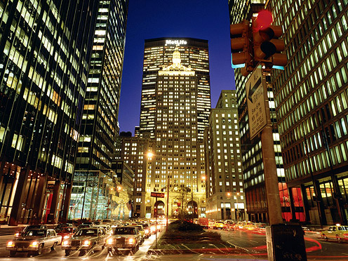 Park-Avenue,-New-York-City,-New-York