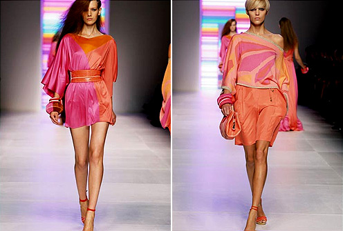 Dresses from Pucci's Spring-summer Collection