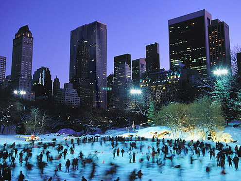 Wollman Rink at Central Park.