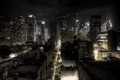 Megapolis at Night