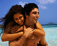 Man and Woman on Vacation