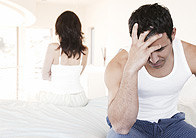 Man Irritated by his Partner
