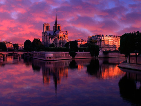 Beautiful Paris, Seine River