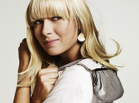 Maria Sharapova and the Bag designed by Her