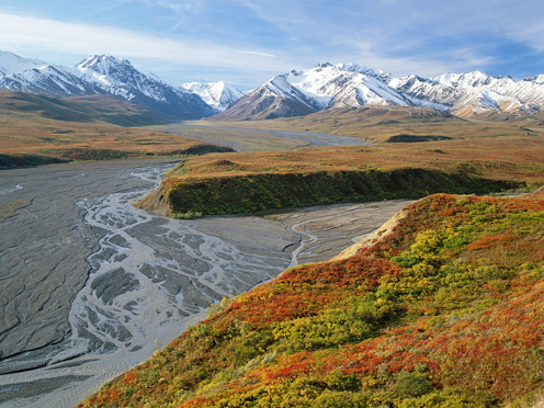 East Fork River, Denali National Park