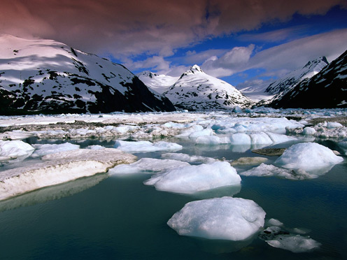 Portage Glacier Recreation Area, Anchorage, Alaska