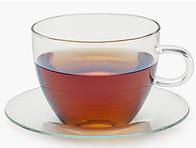 Tea Instead of Cosmetics