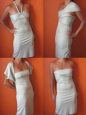 Transformer Dress by Bonnie Lau