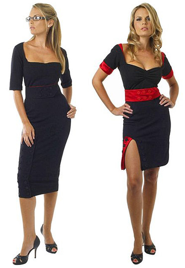 Work to Flirt Dress by Tansy Hamley