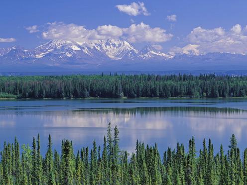 Willow Lake, Mount Wrang