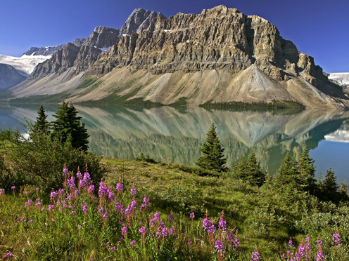 Beautiful Mountains of Canada