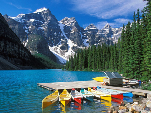 Beautiful View of Canada