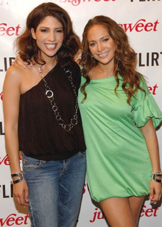 Jennifer Lopez and Linda Lopes