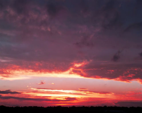 Burning Sky Photo