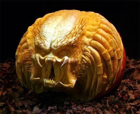 The Alien Pumpkin Pattern