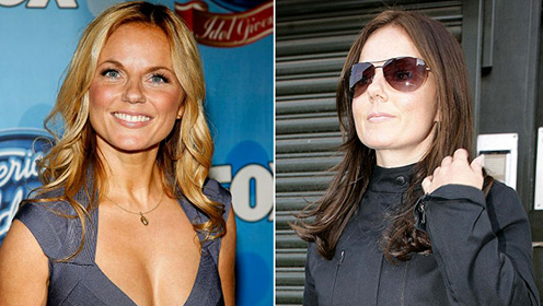 Before and After - Geri Halliwell