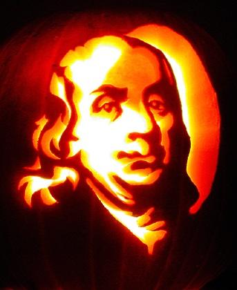 Franklin Pumpkin Pattern for Halloween