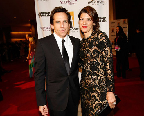 Ben Stiller and Marisa Tomei
