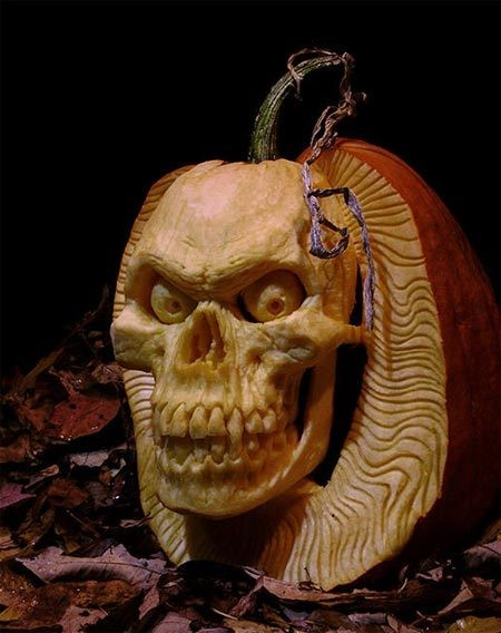 Death Pumpkin Pattern