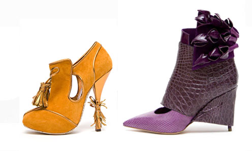 Johj Galliano and Chloe Shoes