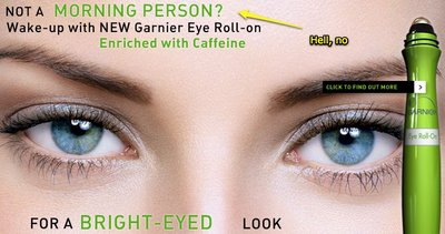 Garnier Roll-on Rubs Out Dark Circles Under Eyes