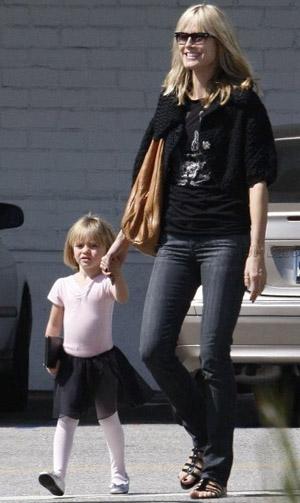 Heidi Klum with Daughter