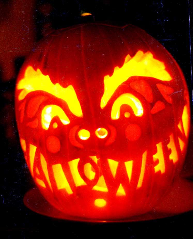 Jack Jack Pumpkin Pattern for Halloween