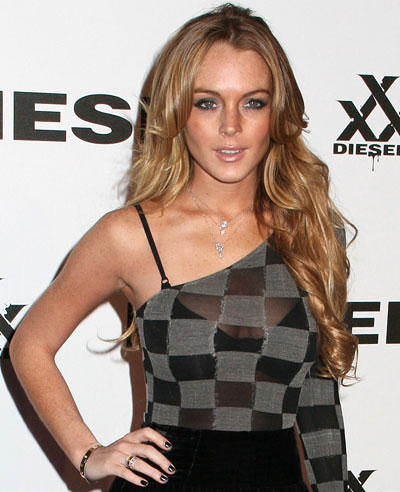 lindsay lohan hair. Lindsay Lohan#39;s New Hair Color