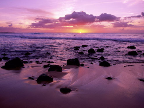 Molokai Shore, Hawaii