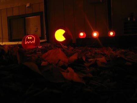Packman Pumpkin Pattern