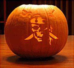 Pumpkin Pattern for Halloween