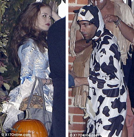 Sacha Cohen and his wife Isla Fisher