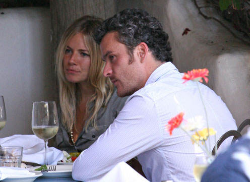 balthazar getty and sienna miller. Balthazar Getty disappointed