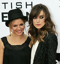 Female Friendship in Hollywood - Sienna Miller and Keira Knightley