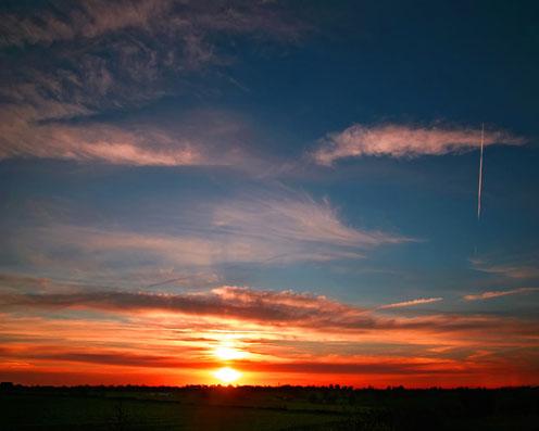 Blue Sky, Red Sun
