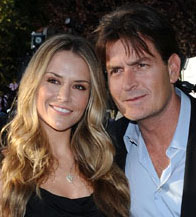 Happily Married Brooke Mueller and Charlie Sheen