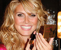 Heidi Klum Launches Her Makeup Collection