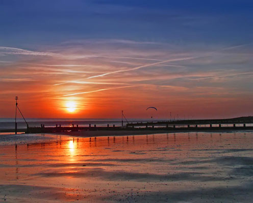 Hunstanton Sunset Beach