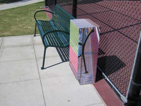 Tennis Court by Joshua Callaghan