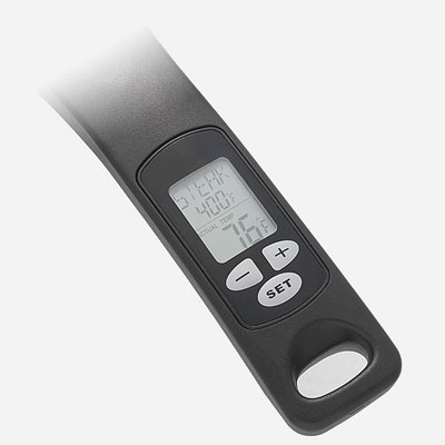 LCD display of the Digital Thermometer Fry Pan