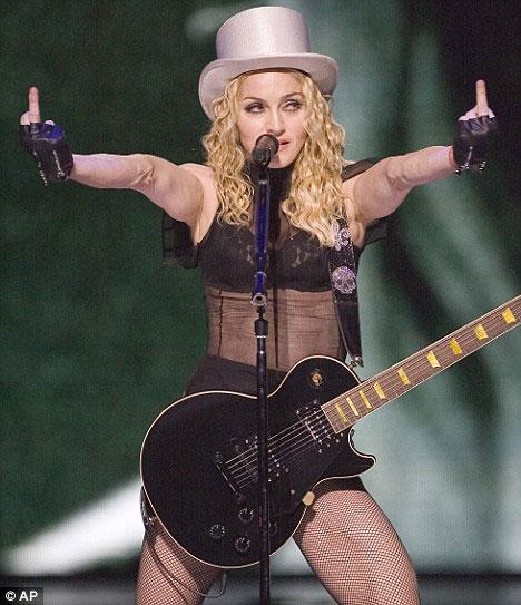 Madonna, Finally Divorced