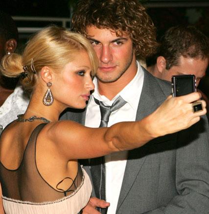 Paris Hilton and Stavros Niarchos
