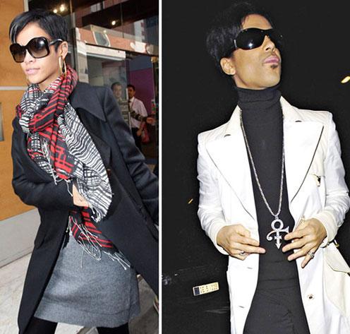 Rihanna and Prince