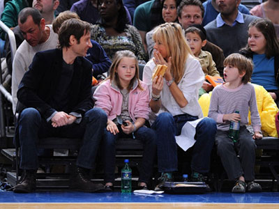 David Duchovny, Tea Leoni and Their Children