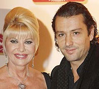 Ivana Trump and Her Ex-Husband Rossano Rubicondi