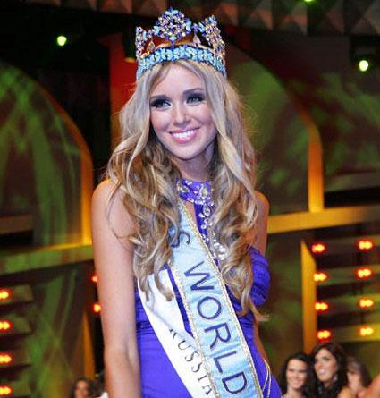 Miss World 2008 Kseniya Sukhinova (Russia)